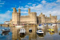 Year of Legends Caernarfon Castle In Wales
