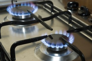 Cooking surface and gas