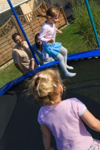 holiday home trampoline safety
