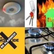 smoke and carbon monoxide alarms