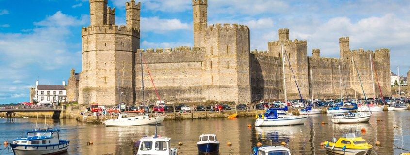 Year of Legends Caernarfon Castle In Wales